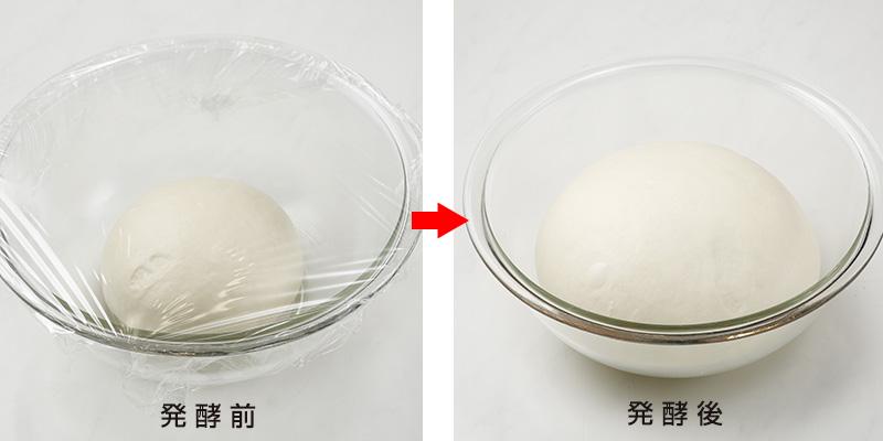発酵前 発酵後