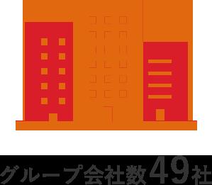 グループ会社数47社