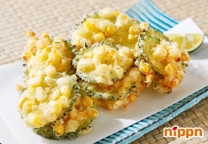 天ぷら レシピ とうもろこし