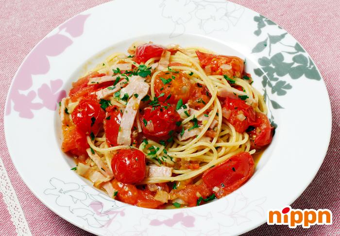 フレッシュトマトのポモドーロスパゲッティ
